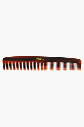 ROOTSBrown Grooming Comb With Wide And Fine Teeth