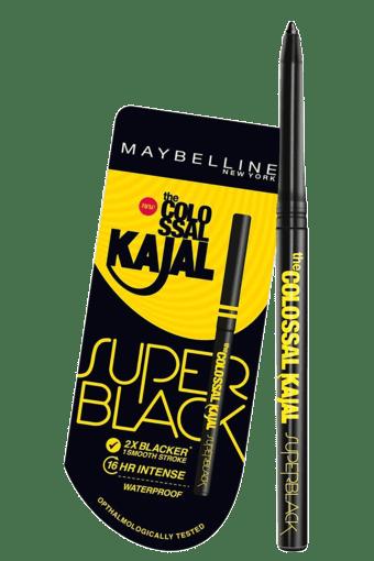 596a6fb11b3 Buy MAYBELLINE Colossal Kajal Super Black | Shoppers Stop