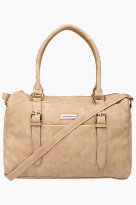 ELLIZA DONATEINWomens Zipper Closure Satchel Handbag - 202320871