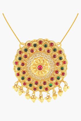 MALABAR GOLD AND DIAMONDSWomens 22 KT Gold Pendant - 201203695