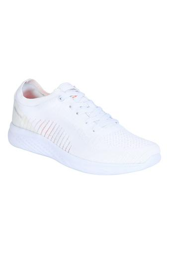 ATHLEISURE -  White Mix Sports Shoes - Main