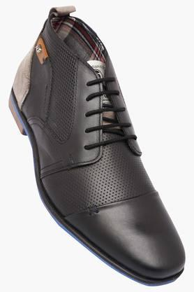 LEE COOPER Mens Leather Lace Up Derbys - 202573049