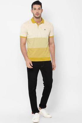 ALLEN SOLLY - MustardT-Shirts & Polos - 3