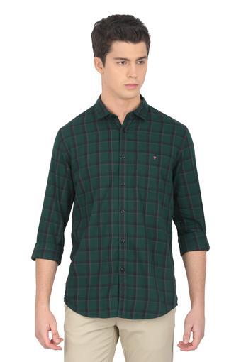 LOUIS PHILIPPE JEANS -  Dark GreenShirts - Main