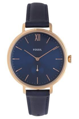 Womens Blue Dial Analogue Watch - ES4663I