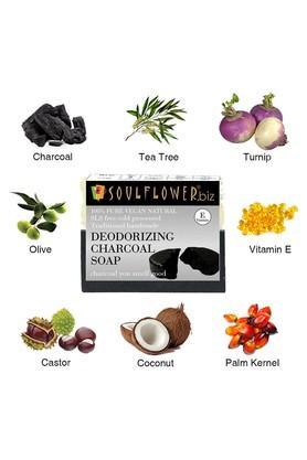Deodorizing Charcoal Soap - 150gm