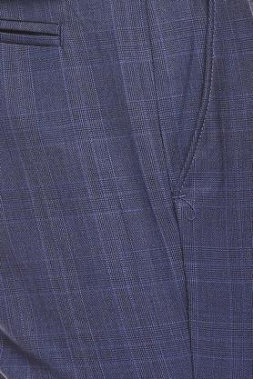 RAYMOND - Dark BlueFormal Trousers - 4