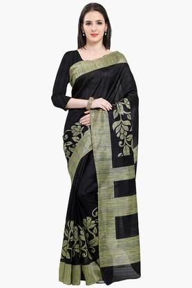 Women Bhagalpuri Art Silk Floral Printed Saree - 202446963