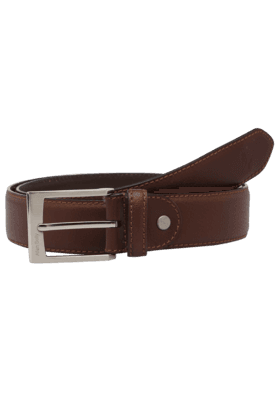 ALLEN SOLLY Mens Leather Formal Belt - 9281427