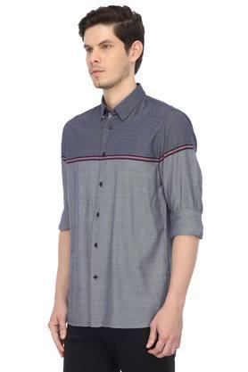 TOMMY HILFIGER - BlueCasual Shirts - 2