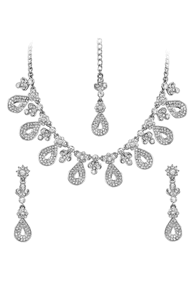 TOUCHSTONE Necklace Set - 9576114