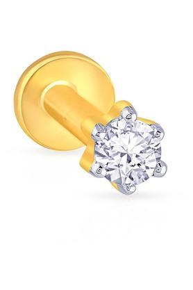 MALABAR GOLD AND DIAMONDSWomens Diamond Nosepin UINSP00048