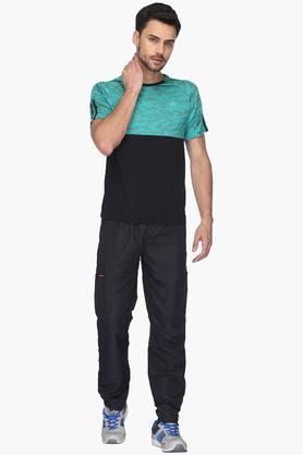 Mens Solid Track Pants