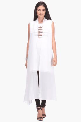 WWomens Printed Sleeveless Tunic