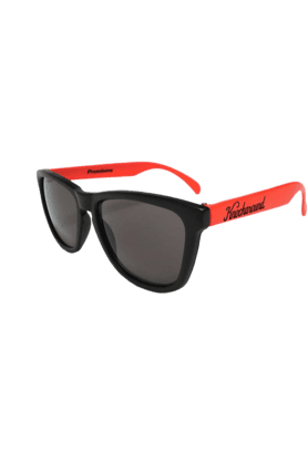 KNOCKAROUND Classic Premium Throwback Unisex Sunglasses Red/Black-PRTH1007 (Use Code FB20 To Get 20% Off On Purchase Of Rs.1800)