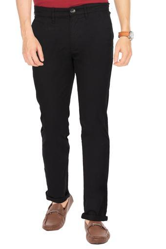 WRANGLER -  Black Cargos & Trousers - Main