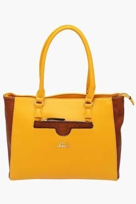 LAVIE Womens Hazara Zipper Closure Tote Handbag