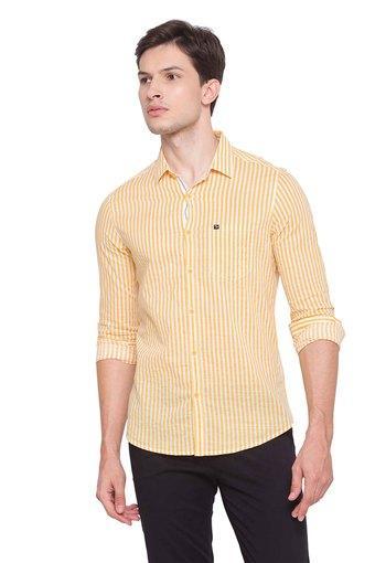 SPYKAR -  MustardCasual Shirts - Main