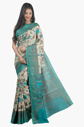 JASHN Womens Printed Saree - 201502573