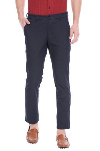 COLOR PLUS -  Navy Cargos & Trousers - Main