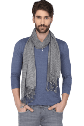 Mens Houndstooth Scarf