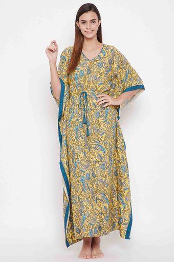 KAFTAN COMPANY -  YellowNightdresses - Main