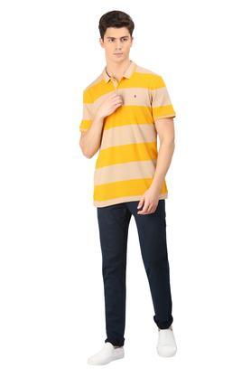 Mens 5 Pocket Stripe Chinos