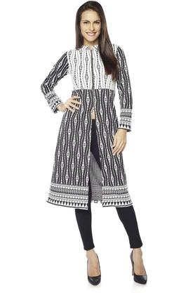 AND Women Polyester Kurta