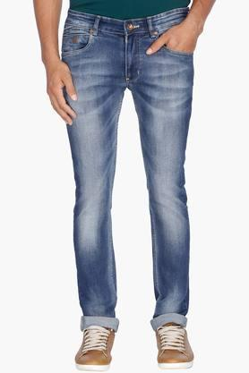 NUMERO UNO Mens 5 Pocket Stretch Jeans (Martin Fit)