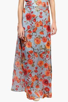 MISS CHASE Womens Printed Maxi Skirt - 202511544_7086