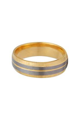 WHP JEWELLERS Mens Yellow Gold Ring Size 22 GRGD16009136