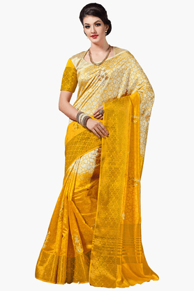 ASHIKA Womens Colour Block Saree