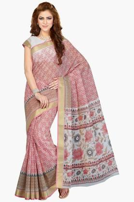 DEMARCA Women Cotton Blend Designer Saree - 202529108