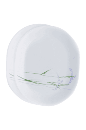 CORELLEShadow Iris Oval Serving Platter (Set Of 2)