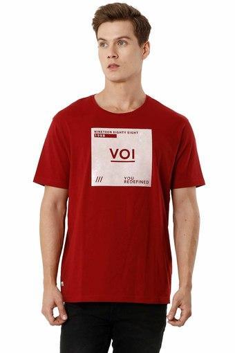 VOI JEANS -  BurgundyT-Shirts & Polos - Main