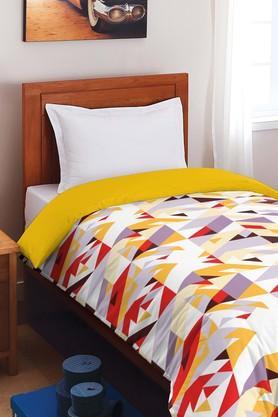SPACESCotton Geometric Single Comforter