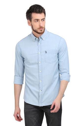 U.S. POLO ASSN. -  IndigoCasual Shirts - Main