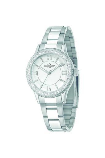 Womens Silver Dial Metallic Analogue Watch - R3753242506