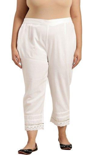 JUNIPER -  WhiteTrousers & Pants - Main