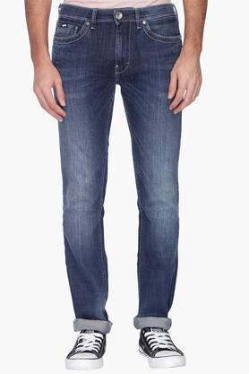 GAS Mens Slim Fit Mild Wash Jeans ( Albert Fit)