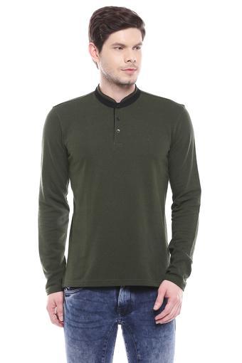 ALLEN SOLLY -  Dark GreenCasual Shirts - Main