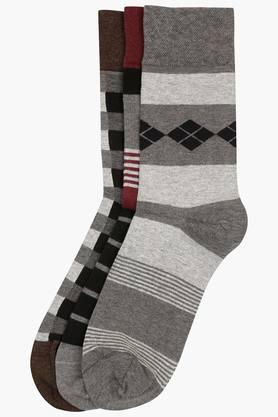 Mens Stripe Socks Set Of 3