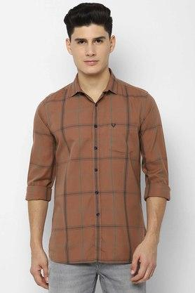 ALLEN SOLLY - KhakiCasual Shirts - Main
