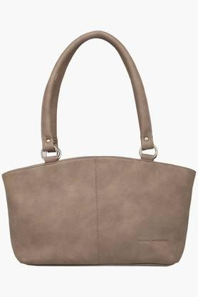 Womens Zipper Closure Synthetic Leather Tote Handbags - 201837588