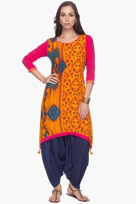 HAUTE CURRY Womens Printed Kurta - 201406000