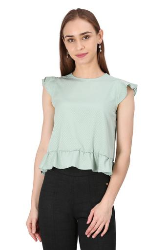 VAN HEUSEN -  Green Tops & Tees - Main