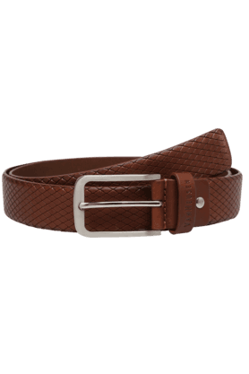VAN HEUSEN Mens TextuLeather Casual Belt