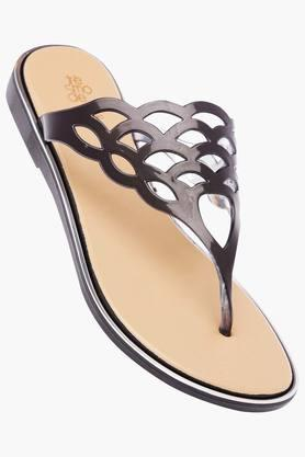 TRESMODEWomens Casual Wear Slipon Flat Sandals