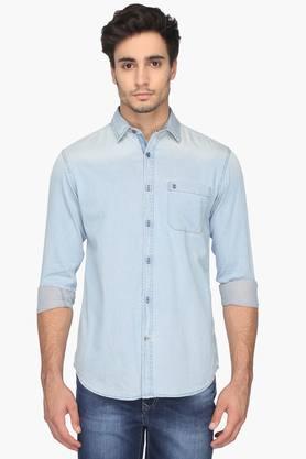 Izod Formal Shirts (Men's) - Mens Slim Fit Assorted Shirt