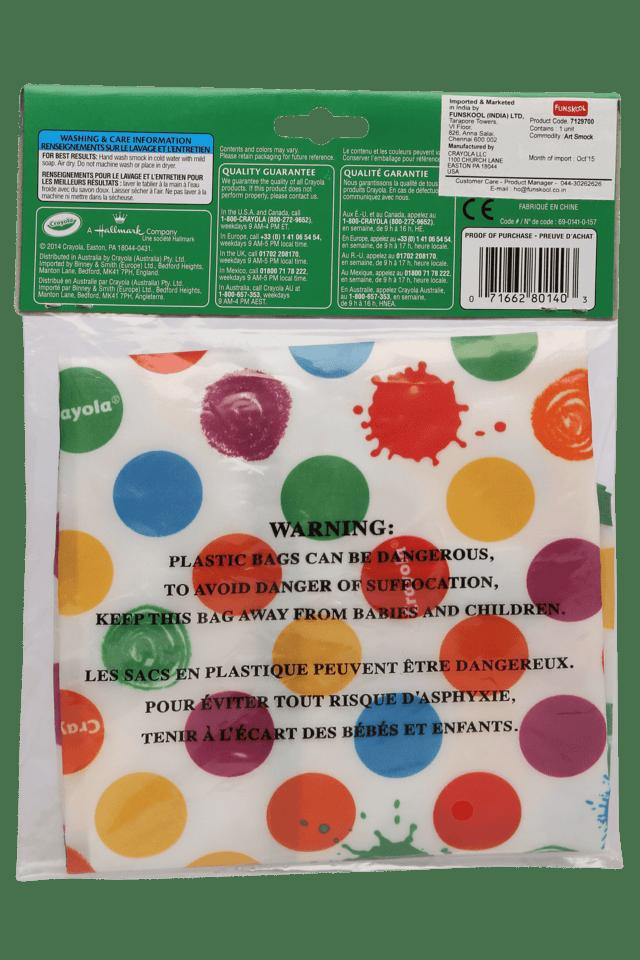 Unisex Art Smock Cover